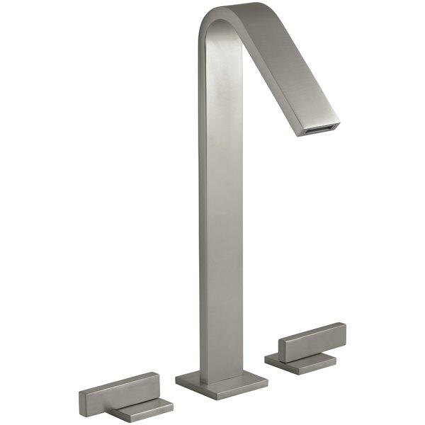 Loure Tall Widespread Bathroom Sink Faucet