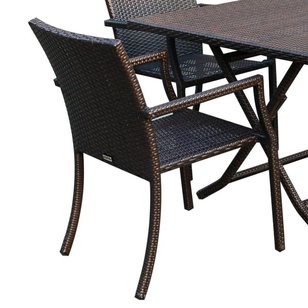 Goodrich 5 Piece Dining Set by Highland Dunes
