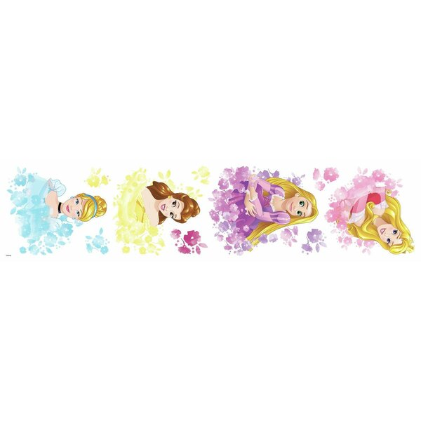Disney Princess Floral Peel and Stick Wall Decal by Room Mates