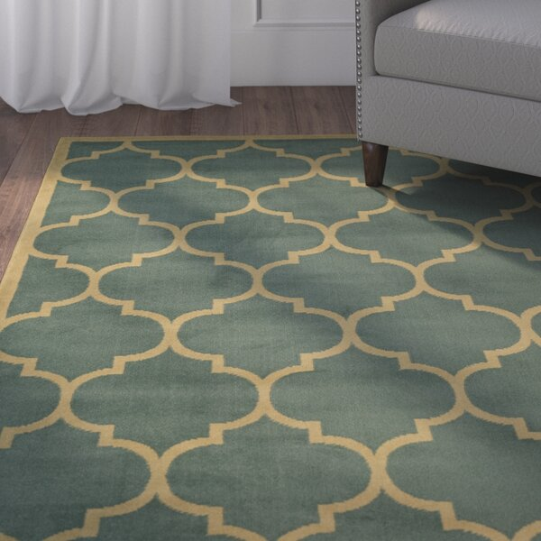 Standridge Sage Green Area Rug by Charlton Home