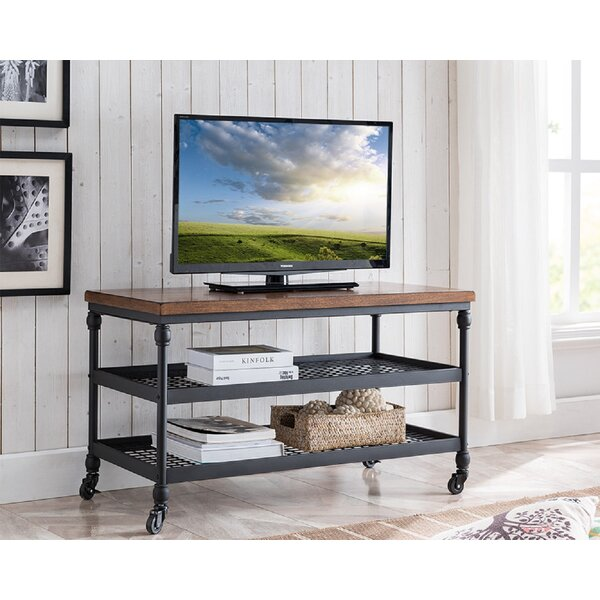 Nellie Solid Wood TV Stand For TVs Up To 48