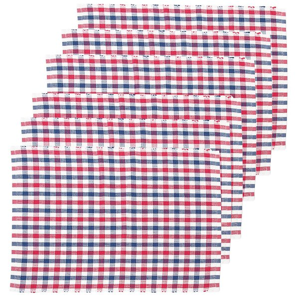 Crozier Plaid Placemat (Set of 6) by Breakwater Bay