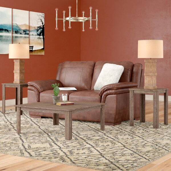 Fontes 3 Piece Coffee Table Set by Union Rustic