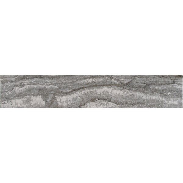 Bernini Carbone 3 x 18 Porcelain Field Tile in Gray by MSI