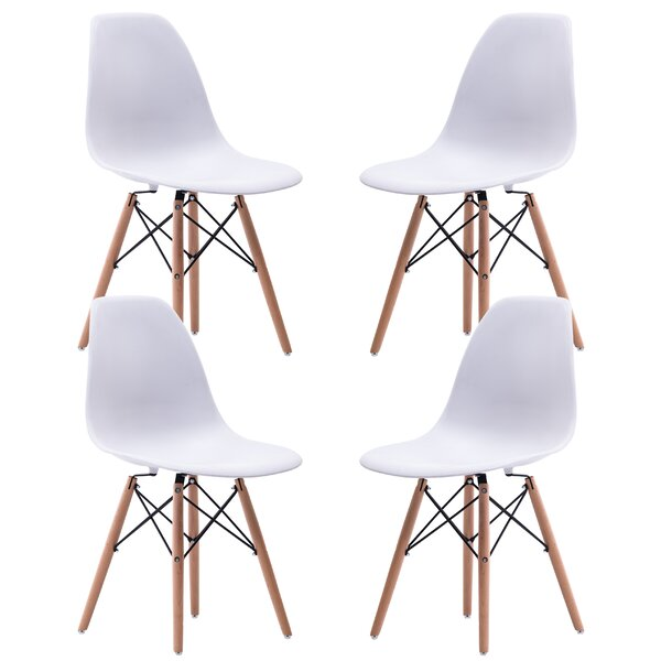 Asbury Modern Dining Chair (Set of 4) by Wrought Studio