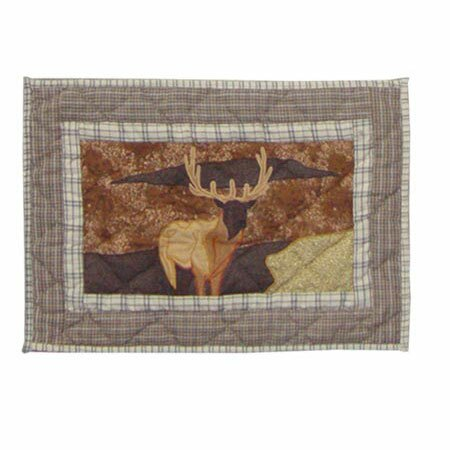 Elk Placemat (Set of 4) by Patch Magic