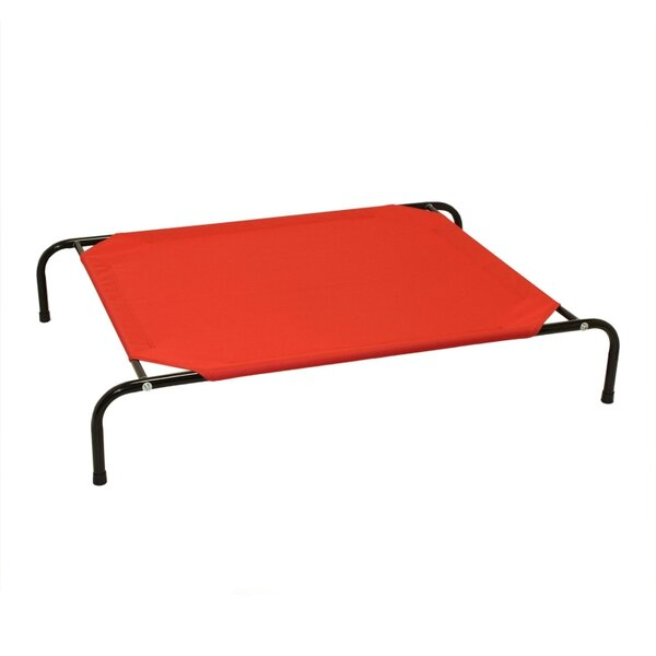 Jojo Basic Elevated Steel Frame Pet Cot by Tucker