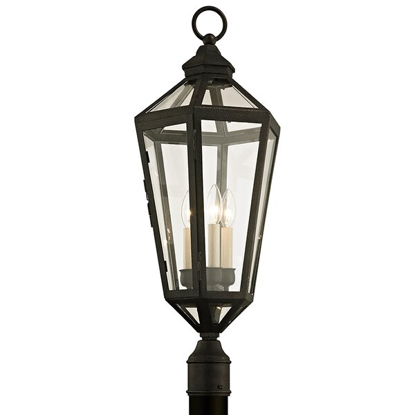 Dhavale 3-Light 30 Post Light by Darby Home Co