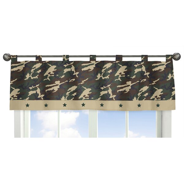 Camo 54 Curtain Valance by Sweet Jojo Designs