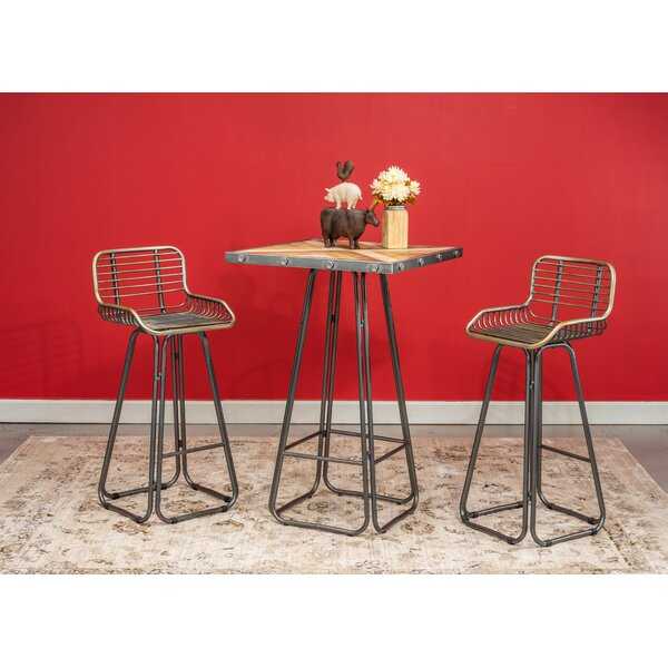 Villani 3 Piece Pub Table Set by Williston Forge