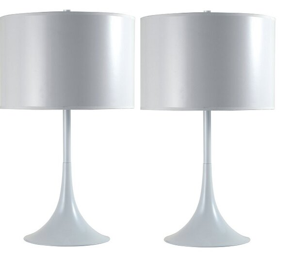 Modern Funnel 25 Table Lamp (Set of 2) by Latitude Run