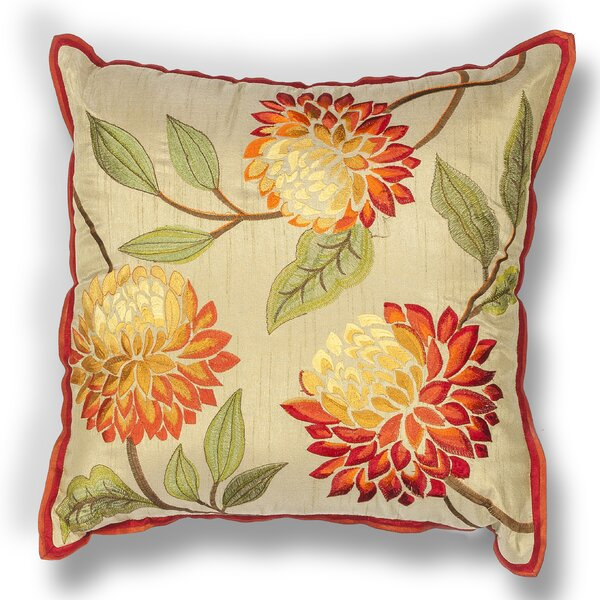 Craigmont Chrysatham Throw Pillow by Darby Home Co
