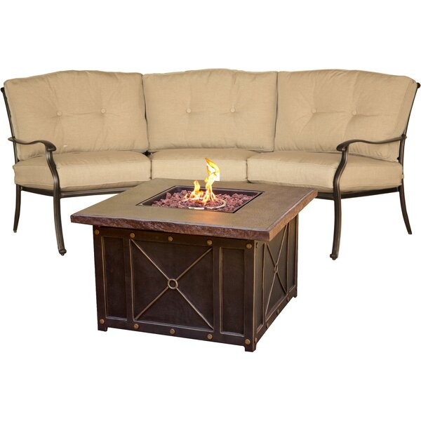 Carleton 2 Piece Sofa Seating Group with Cushions by Fleur De Lis Living