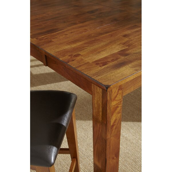 Chiricahua Counter Height Solid Wood Dining Table By Loon Peak