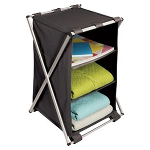 Online Reviews Free Standing Storage 3-Shelf X-Frame Compartment By Richards Homewares