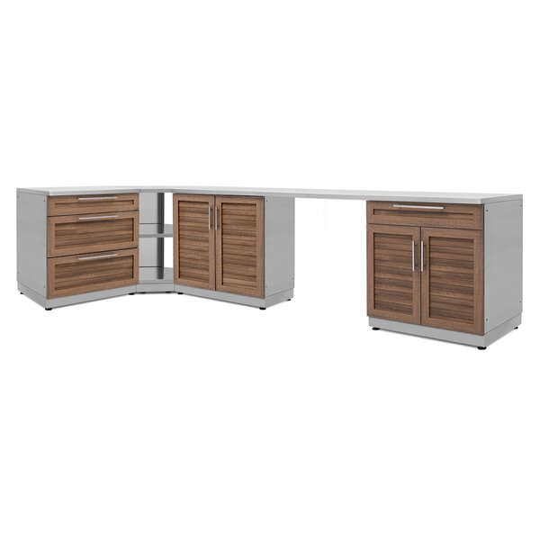 @ Kitchen 6 Piece Outdoor Bar Center Set by NewAge Products| #$4,599.99!
