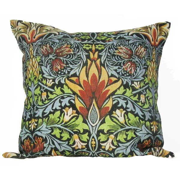 Dimick Pineapple Throw Pillow by Bungalow Rose