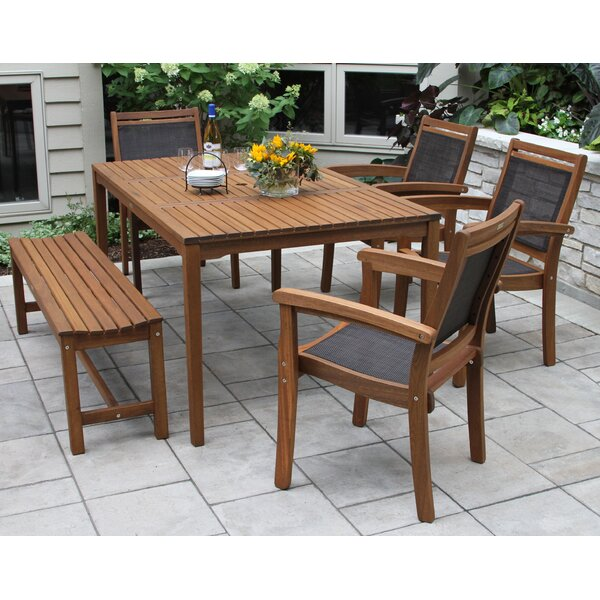 Tovar 6 Piece Dining Set by Beachcrest Home