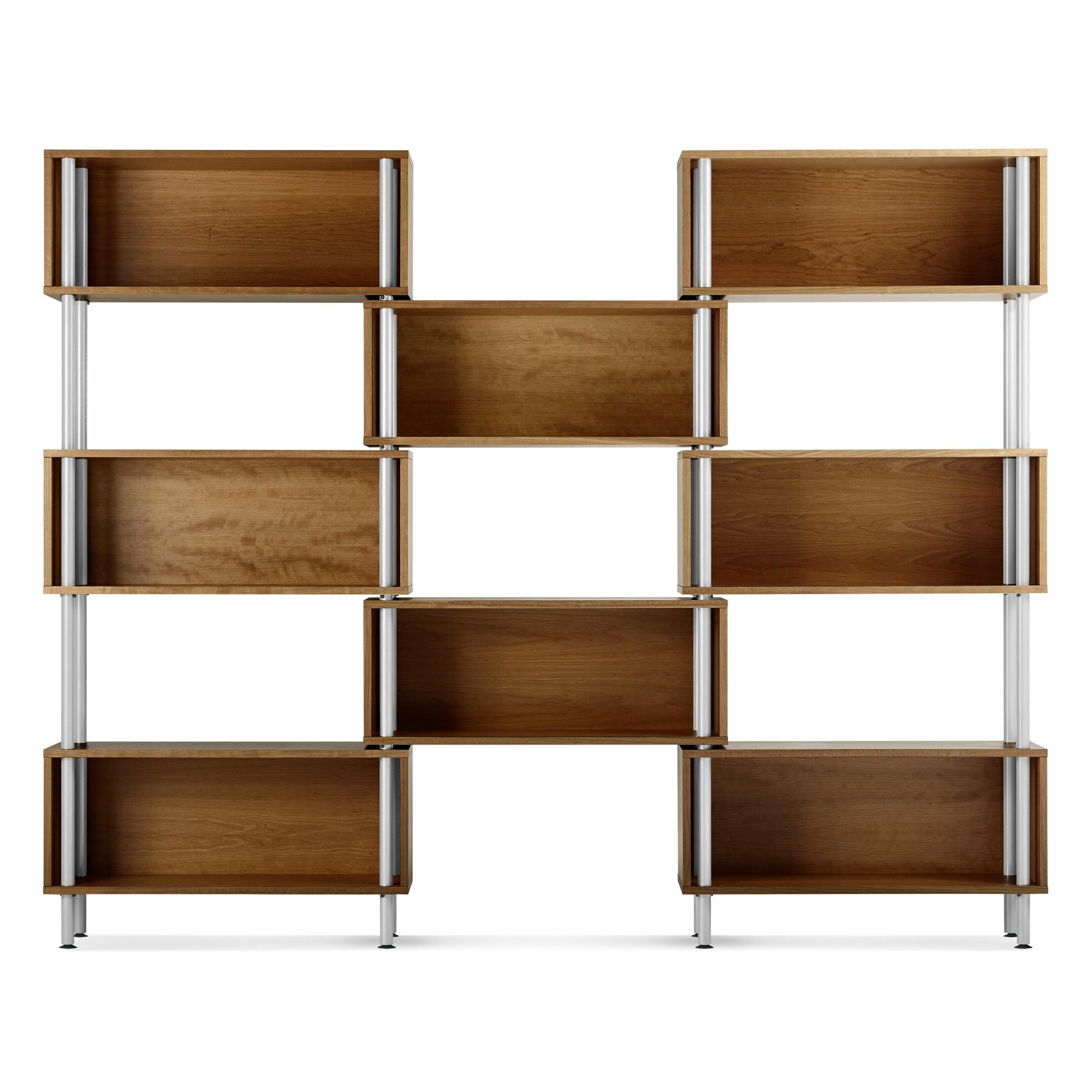 Blu Dot Chicago 75 Oversized Set Bookcase Reviews Wayfair