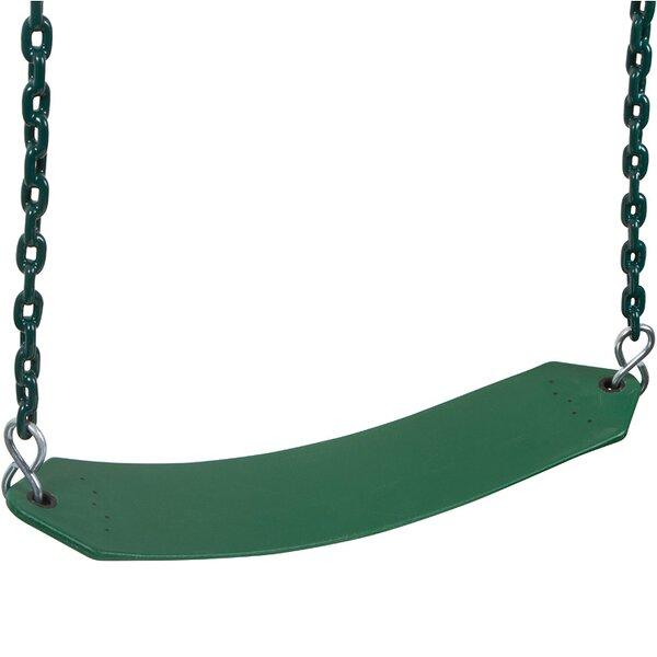 Swing with Coated Chains and Hooks by Swing Set Stuff