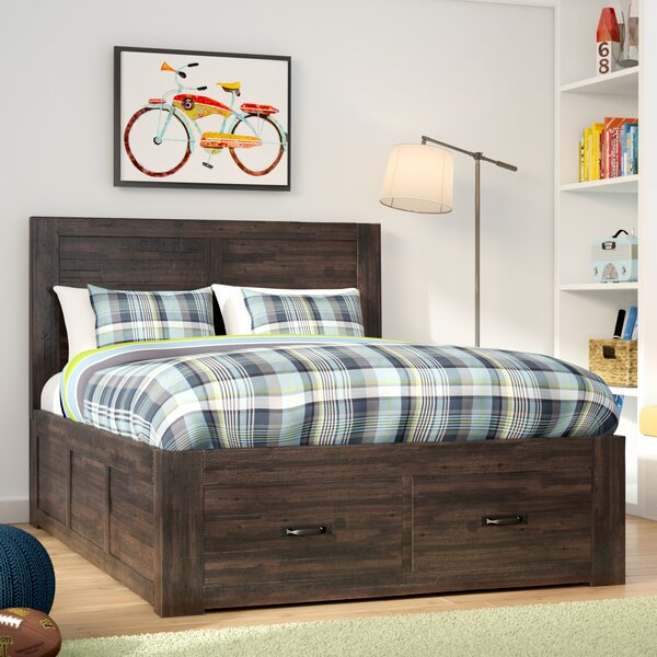 Athol Queen Platform Bed by Three Posts