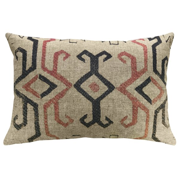 Lund Southwestern Linen Throw Pillow by Union Rustic