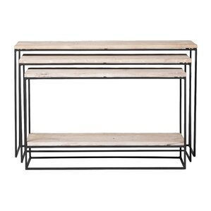 Kassandra 3 Piece Console Table Set by 17 Stories