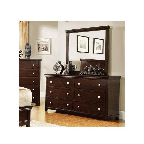 Crissyfield 6 Drawer Double Dresser by Latitude Run