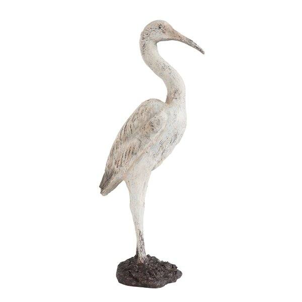 Alfaro Resin Bird Figurine by Highland Dunes