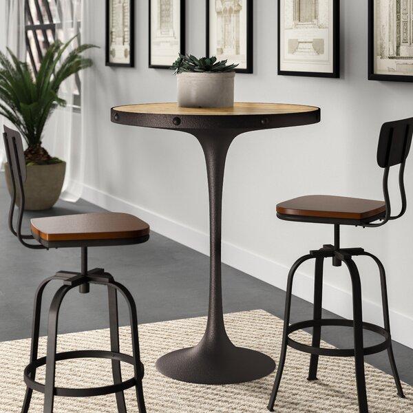 #1 Altavista Wood Pub Table By Greyleigh Read Reviews