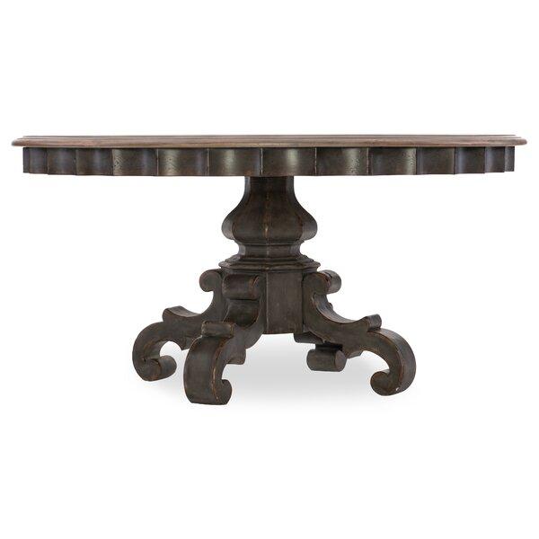 Arabella Round Pedestal Dining Table by Hooker Furniture Hooker Furniture