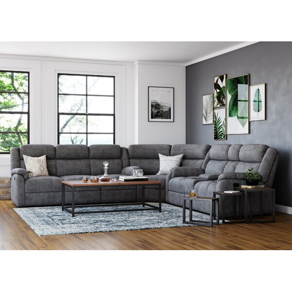 Lynelle Reversible Reclining Sectional By Red Barrel Studio