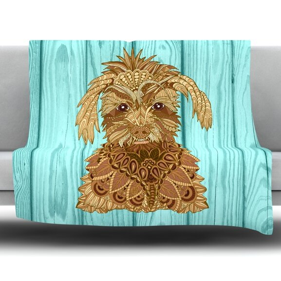 Gatsby The Great by Art Love Passion Fleece Throw Blanket by East Urban Home