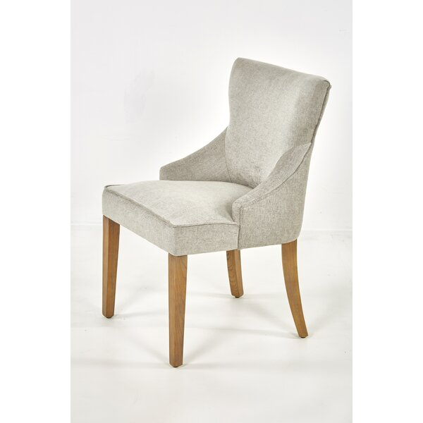 Guttenberg Upholstered Side Chair In Light Gray (Set Of 2) By Foundry Select