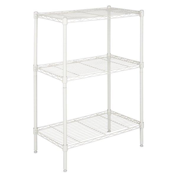 35.43 x 23.62 Suze 3-Shelf Wire Rack by happimess