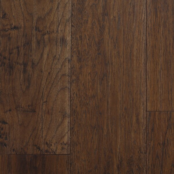Oslow 7 Engineered Hickory Hardwood Flooring in Brown by Branton Flooring Collection