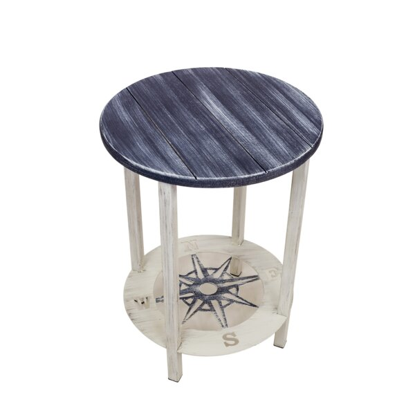 Nassauer End Table With Storage By Breakwater Bay