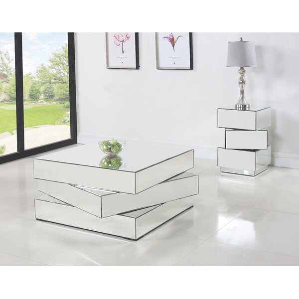 Chih 2 Piece Coffee Table Set by Everly Quinn Everly Quinn