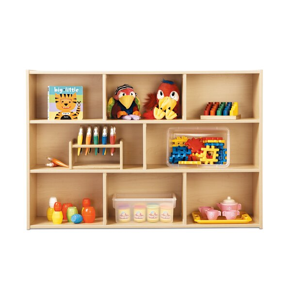 8 Compartment Shelving Unit by Young Time