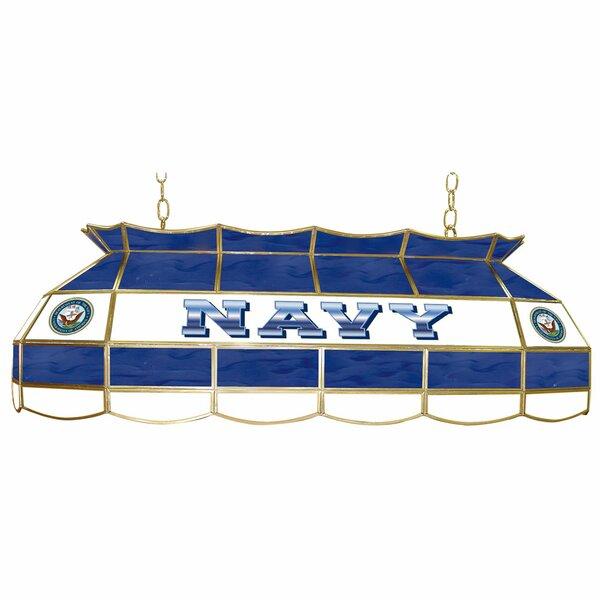 U.S. Navy 3-Light Pool Table Light by Trademark Global