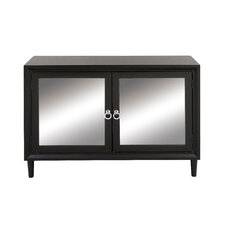 2 Door Wood Mirror Accent Cabinet by Cole & Grey