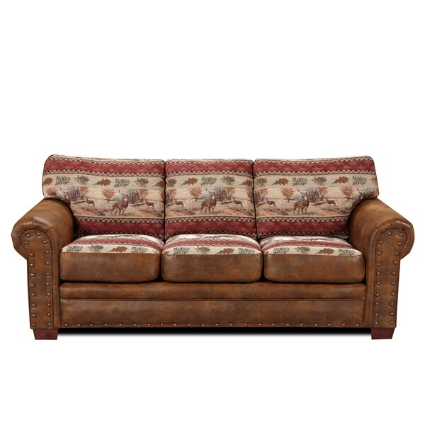 Best Price Charlie Deer Valley Sofa by Millwood Pines by Millwood Pines
