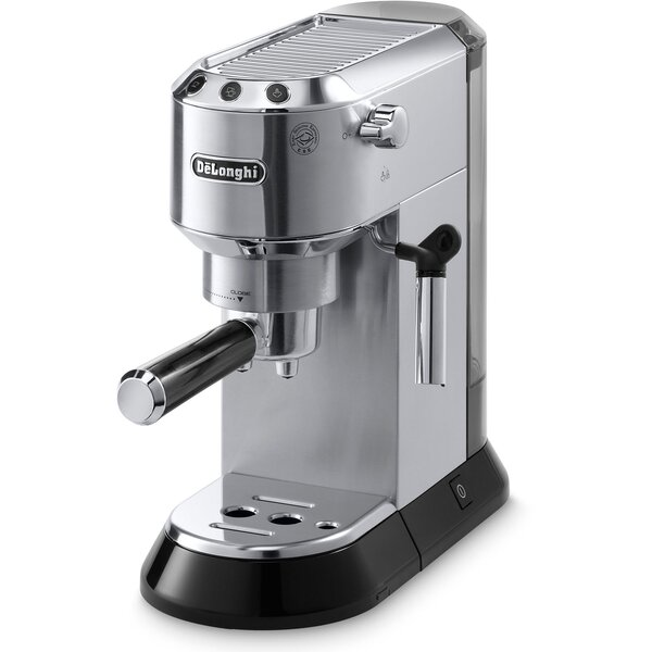 Dedica 15 Bar Pump Espresso Machine with Cappuccino System by DeLonghi