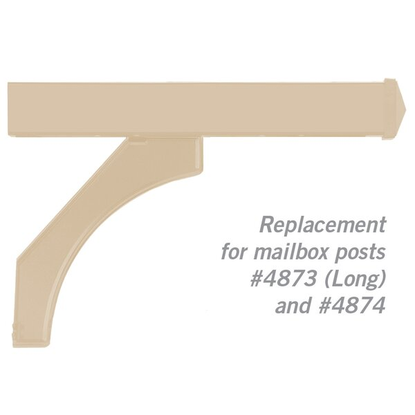 Deluxe Mailboxes Post Arm Kit Replacement by Salsbury Industries