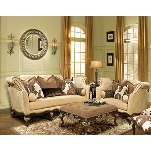 Salermo 3 Piece Living Room Set by Benetti's Italia
