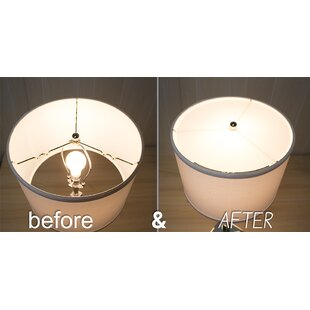 Lamp shade diffuser wayfair 14 acrylic drum lamp shade aloadofball Image collections