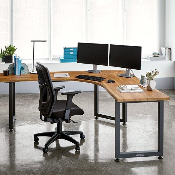 QuickPro Corner Computer Desk by VARIDESK