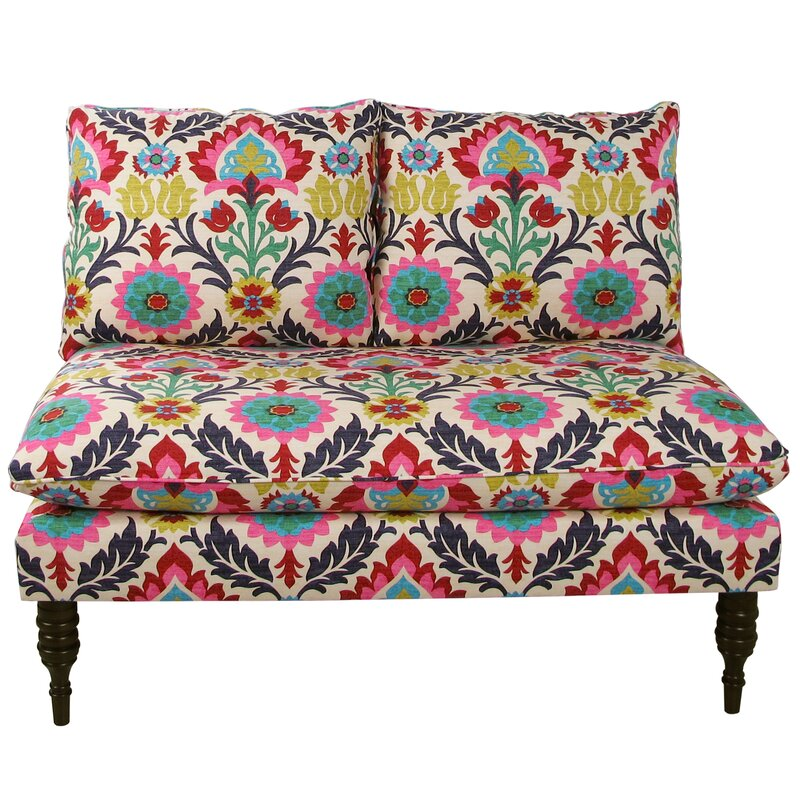 Elinore Multi Colored Loveseat By Mistana Read Reviews Sofas