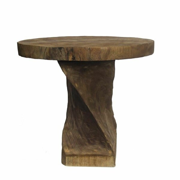 Cicely Wooden Round Bistro Table by Union Rustic