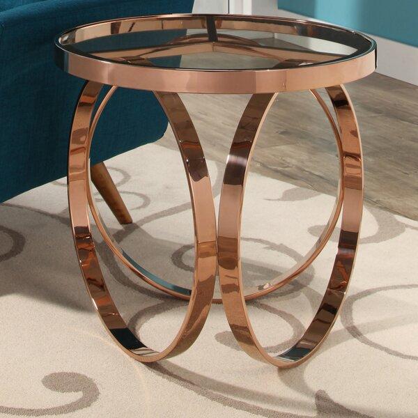 Amira End Table by Orren Ellis